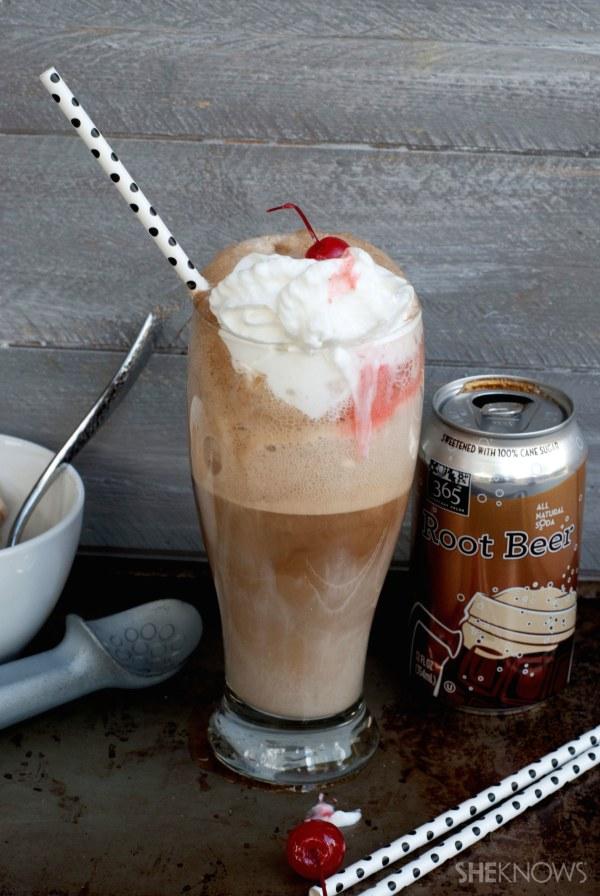 Boozy root beer ice cream recipe