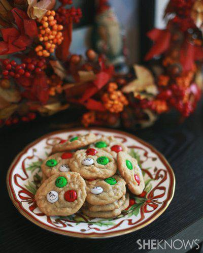 M&M Holiday Cookie