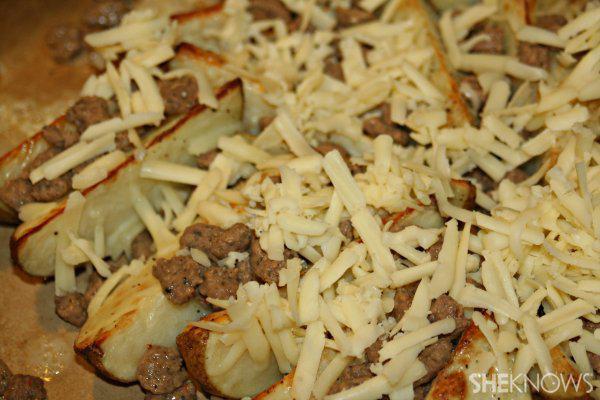 Touchdown turkey sausage taters