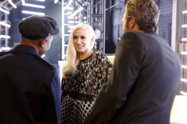 Gwen, Blake, Pharrell