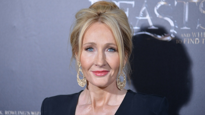 J.K. Rowling Shares a Rare Sneak