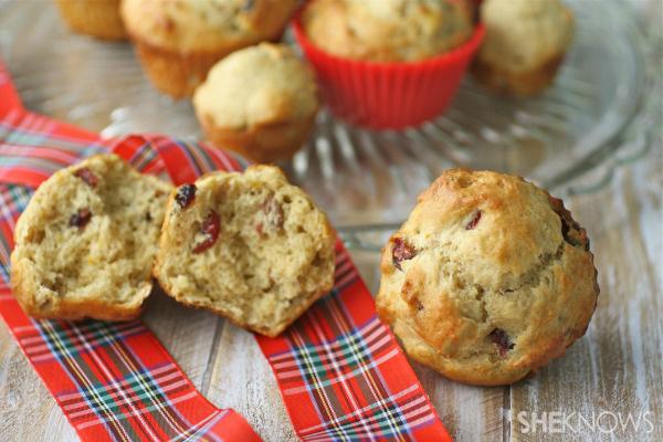 Fabulous fruitcake muffins