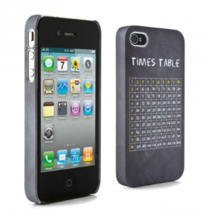 Times table iPhone case