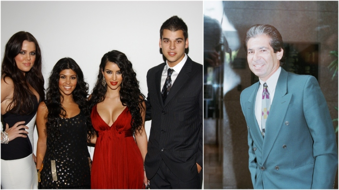 Khloe, Kourtney, Kim and Rob Kardashian;