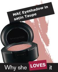 MAC Eyeshadow in satin Taupe