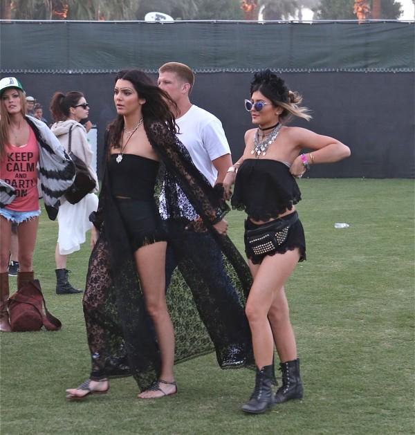 Kylie Jenner at Coachella