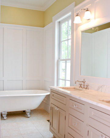 Winter style guide for your home: Bathroom