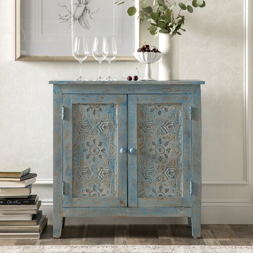 Kelly Clarkson Home Collection Blue Bell Cabinet.