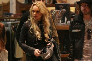 Lindsay Lohan at American Rag