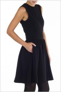 By Malene Birger Imania Black Flounce Dress(Les Nouvelles, $495)