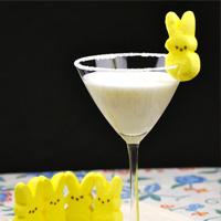 Marshmallow Peep Martini