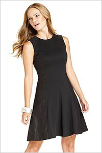 Vince Camuto Sleeveless Faux-Suede A-Line Dress(Macy's, $128)