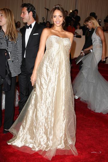 Jessica Alba at the 2011 Met Ball