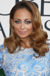 Nicole Richie at the Golden Globes