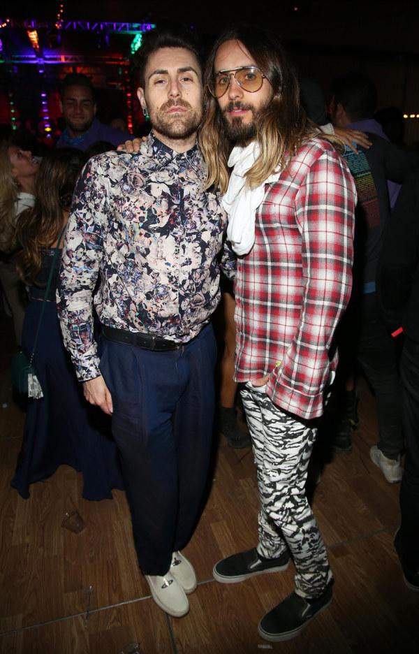 Jared Leto at Nylon party
