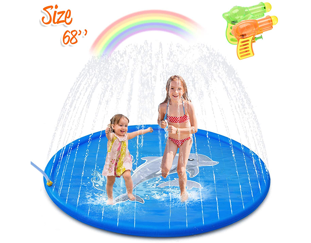 Minto Toy Best Inflatable Sprinkler Pad on Amazon