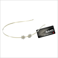 Remington Metal Headband with Flowers (remingtonproducts.com, $10)