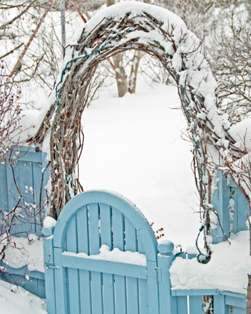 Winter style guide for your home: Outdoors