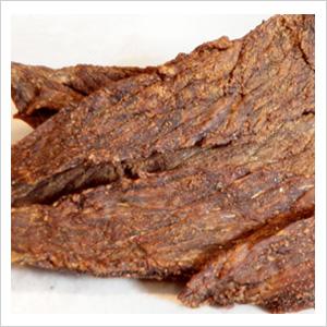 Gourmet beef jerky