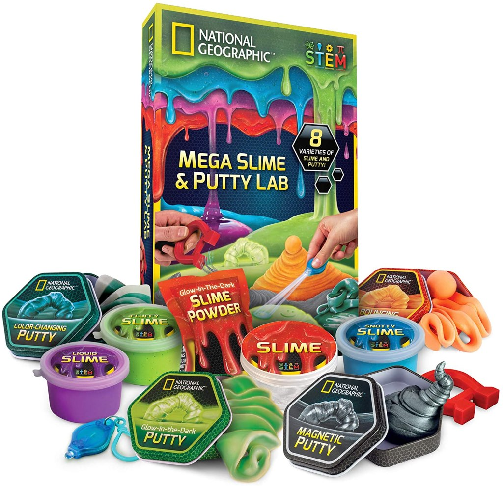 National Geographic Best DIY Slime KIt Amazon