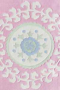 Layla Grace Suzani Pink Indoor/Outdoor Tufted Rug