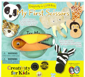 Creativity For Kids My First Scissors Kit