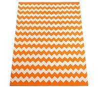 Zigzag printed rug