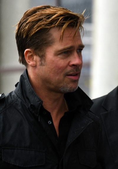 Brad Pitt at 24 Hours of Le Mans