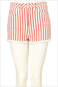 Stripped shorts (Top Shop, $64)