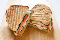 Pesto chicken sandwich