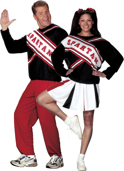 SNL Spartan Cheerleader