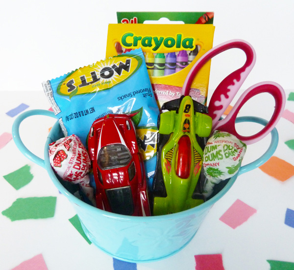 Personalized Party Buckets