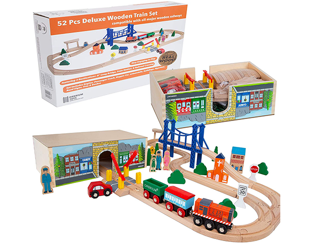 Orbrium Best Train Set for Toddlers on Amazon