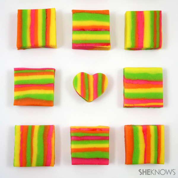 Neon LOVE fudge