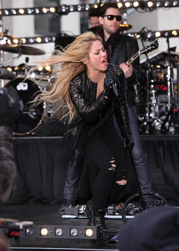 Shakira on the Today Show