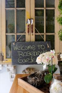 Garden sign