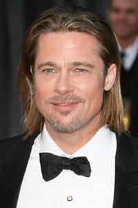 Brad Pitt -- long hair