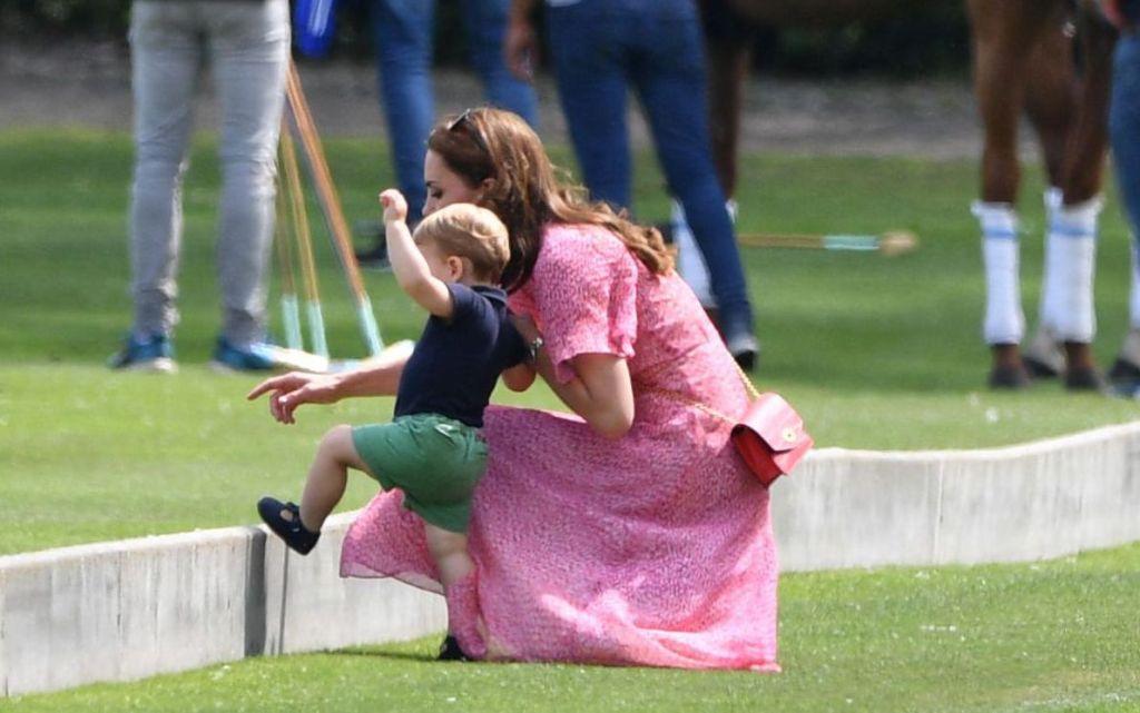 Catherine Duchess of Cambridge, Prince LouisKing Power Royal Charity Polo Day, Billingbear Polo Club, Wokingham, UK - 10 Jul 2019