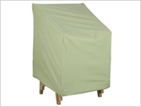 stackable chair outdoor cover
