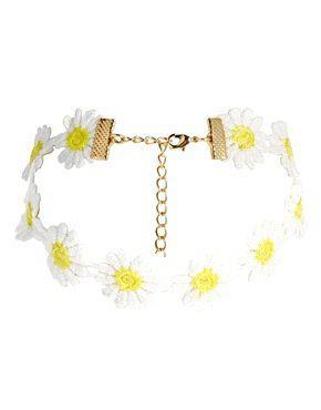 ASOS Daisy Choker Necklace