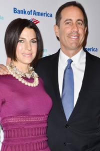 Jerry Seinfeld & Jessica Seinfeld