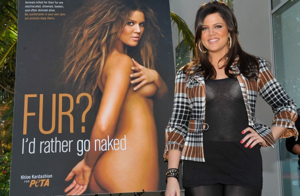 Khloe Kardashian PETA Campaign