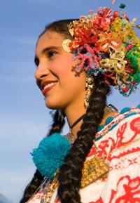 Woman in Belize