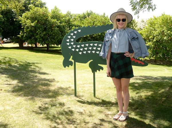 Jenna Malone at Coachella