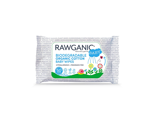 Rawganic Best Unscented Baby Wipes on Amazon
