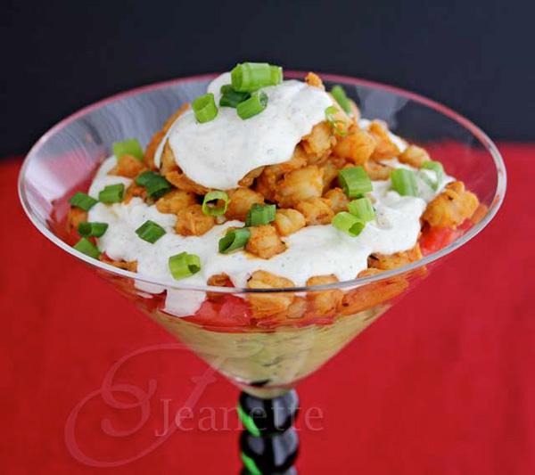 Shrimp taco dip