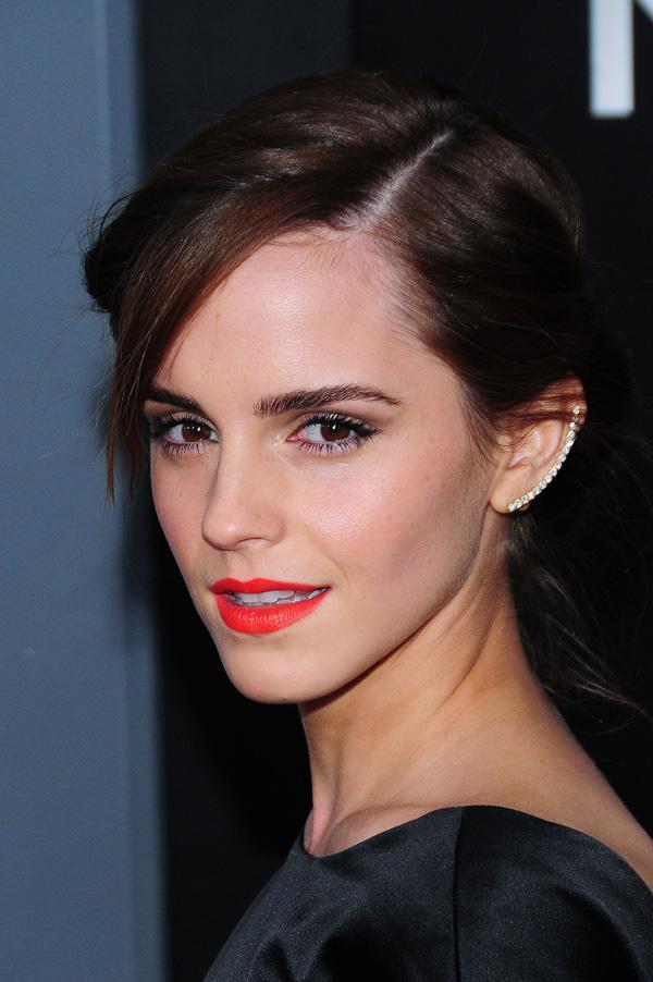Emma Watson wearing an ear cuff