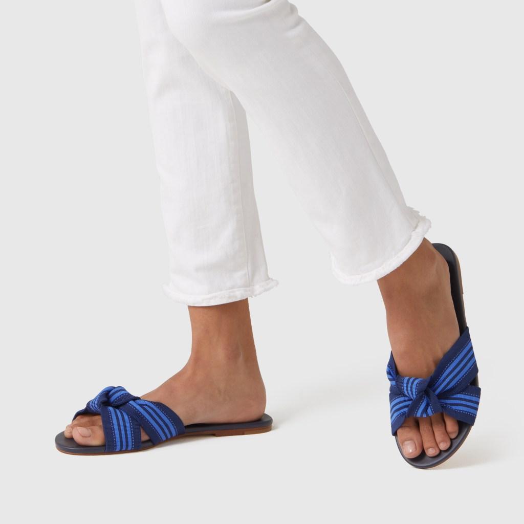 Rothy's Knot Sandal Blue