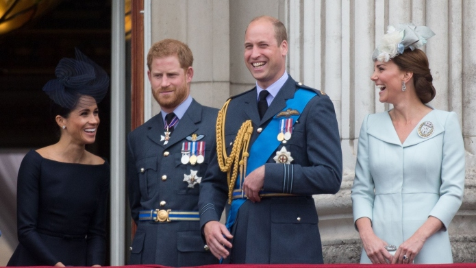 Meghan Markle, Prince Harry, Prince William, Kate Middleton