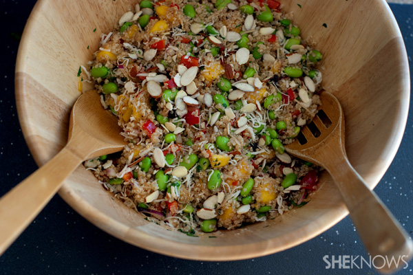 Copycat Whole Foods California quinoa salad